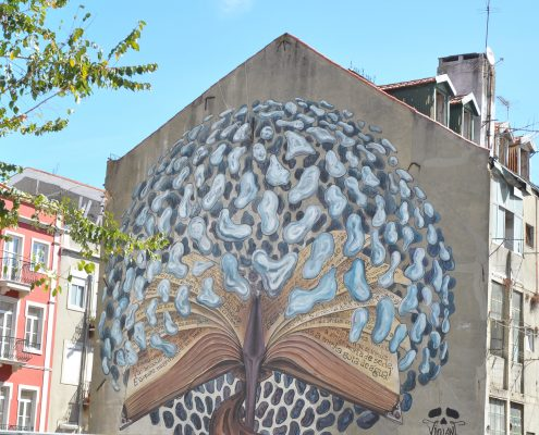 lisbon portugal street art wanderglow