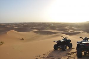 ATVs Four Wheel Off Road Sahara Desert