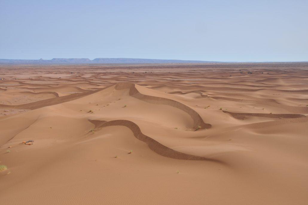 Sahara Desert sand dunes Morocco