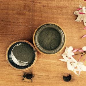 Mahalo Skincare Pele Mask with activated charcoal and volcanic ash clay and cayenne pepper