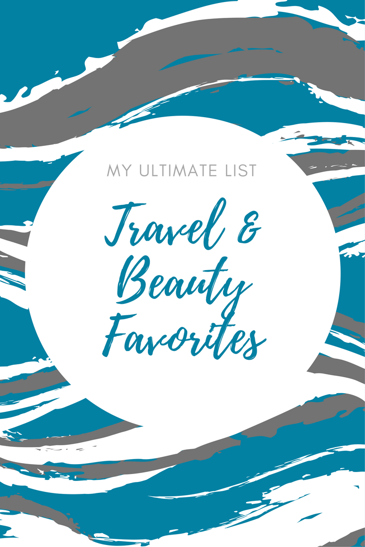 favorite beauty and travel products of Nicole and Wanderglow